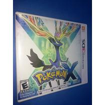 Pokemon X 3ds 100% Ok, Americano, Completo, Impecável