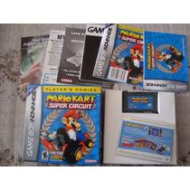 Mario Kart Original Americana Completa Para Gba/sp/dsl/ds