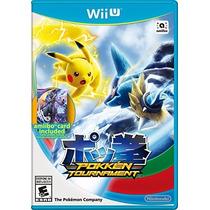 Jogo Novo Lacrado Pokken Tournament Para Nintendo Wii U