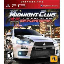 Midnight Club Los Angeles - Complete Edition - Ps3