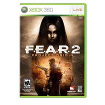 Jogo Fear 2 Project Origin Xbox 360 Original Lacrado A5464