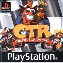Ctr Crash Team Racing Playstation 1