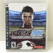 Jogo Pro Evolution Soccer 2008 - Playstation 3