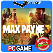 Max Payne 3 Pc Steam Cd-key Global Envio Imediato