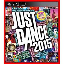 Just Dance 2015 Ps3 Psn Jogo Dança Portugues Br - Promocao