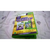 Caixinha + Encarte Kinect Sports 1 E 2 - Não Tem O Jogo