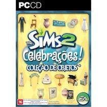 Coleção De Objeto Celebrações Para Jogo Pc The Sims 2