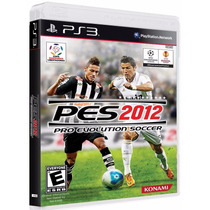 Pes 2012 - Pro Evolution Soccer 12 - Ps3 - Original Lacrado