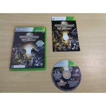 Mortal Kombat Vs Dc Universe - Xbox 360 - Completo - Luta