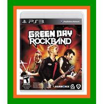 Green Day Rock Band Ps3 - Lacrado