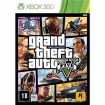 Grand Theft Auto V Xbox 360 Gta Midia Fisica/original/lacrad