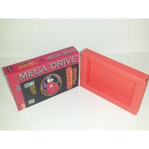Caixa Sonic& Knuckles Mega Drive + Berço Incluso!!!!!!!