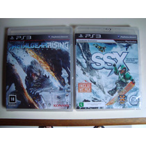 Ps3 Playstation 3 - Lote1 Com 10 Jogos Originais E Completos