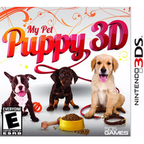 Jogo Game My Pet Puppy 3d 3ds Nintendo Lacrado P. Entrega
