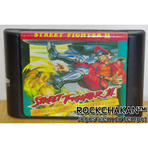 Street Fighter 2 Turbo - Estilo Mortal Kombat - Mega Drive