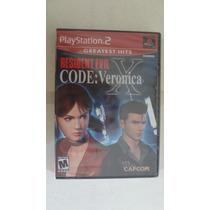 Resident Evil Code Vero Ps2 (greatest Hits) - Novo E Lacrado
