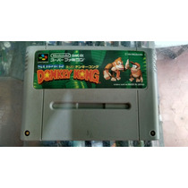 Donkey Kong Country 1 Orig Jap P/ Super Nintendo Gravando