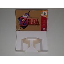 Caixa Zelda Ocarina Of Time + Berço Incluso, Nintendo 64!!!!