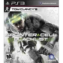 Tom Clancys Splinter Cell Blacklist - Ps3 Código Psn Pt Br