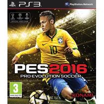 Novo Jogo Pes 2016 Pro Evolution Soccer Ps3 Original
