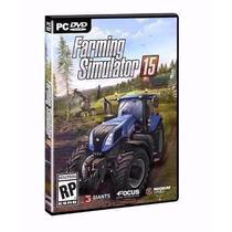 Farming Simulator 2015 + Simcity 5 !! Frete Grátis !!!