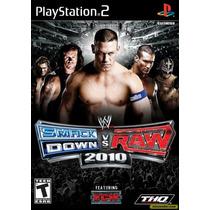 Wwe Smackdown Vs Raw 2010 Ps2 Patch Frete Unico