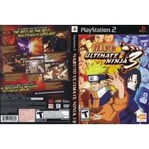 Jogos Play 2 Naruto Ultimate Ninja 3