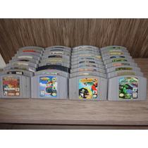 Jogos Originais Nintendo 64 Cada Uma R$ 59.00