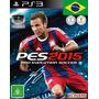 Pes 15 Ps3 2015 Pro Evolution Soccer Cod Psn Entrega Na Hora