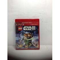 Lego Star Wars Iii The Clone Wars Semi Novo Ps3 Rcr Games