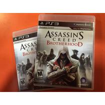Assassins Creed Brotherhood Playstation 3 - Jogo Novo