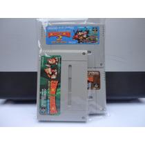 Cartuchos Super Nintendo Donkey Kong 1 2 3 Trilogia Original