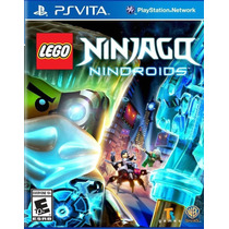 Jogo Lego Ninjago Nindroids Para Psvita Original !!!