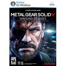 Metal Gear Solid V Ground Zeroes Em Português Frete Grátis.