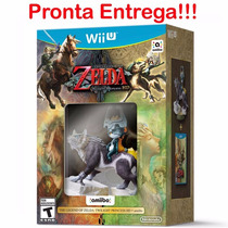 The Legend Of Zelda Twilight Princess Hd + Amiibo Wii U