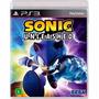 Sonic Unleashed - Ps 3 - Lacrado - Americano