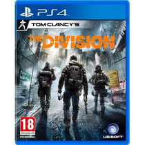 Tom Clancys The Division Ps4 Pré-venda M. Física Pt
