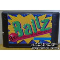 Ball Z 3d - Cartucho Fita - Jogo - Mega Drive - Sega Genesis
