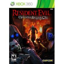 Resident Evil Operation Raccoon City Xbox 360 Semi Novo