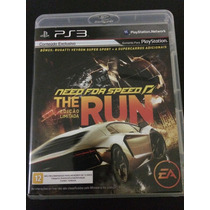 Need For Speed The Run Ps3 Mídia Física Usada