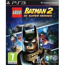 Lego Batman 2 Dc Super Heroes Ps3 Código Psn Receba Hoje