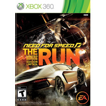 Jogo Xbox 360 Need For Speed The Run