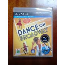 Dance On Broadway Jogo Ps3 Move Novo Lacrado De Fabrica Raro