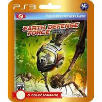 Earth Defense Force Insect Armageddom (código Ps3)