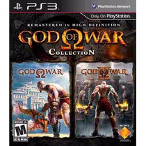 God Of War Collection Ps3 Original 1 E 2