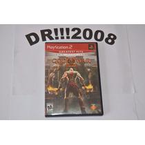 God Of War 2 Original P/ Playstation 2!!!