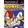 Colecão Patch Sonic Mega Collection Plus Para Ps2