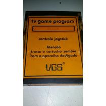 Cartucho Zaxxon Vgs Tv Game Program