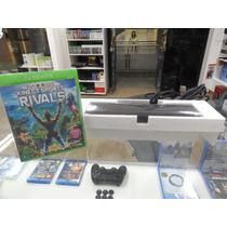 Kinect Sensor Xbox One Novo + Sport Rivals Pronta Entrega