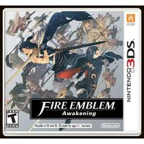 Fire Emblem Awakening Nintendo 3ds Original Lacrado